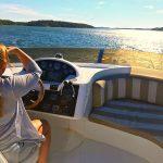 Båtar, fartyg och skepp vid Dalarö med omgivning