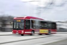 Buss 869 ej i trafik