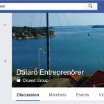 Facebook-grupp för Entreprenörer och egenföretagare på Dalarö