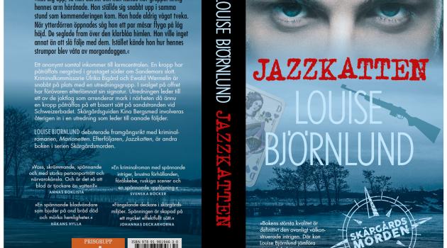 Jazzkatten – Louise Björnlunds nya bok är snart här